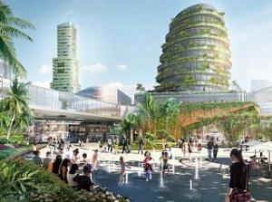 В Малайзии построят лесной город с зелеными крышами