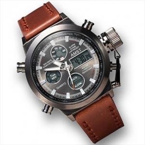 AMST - военные часы с комбинированным отображением времени (556)