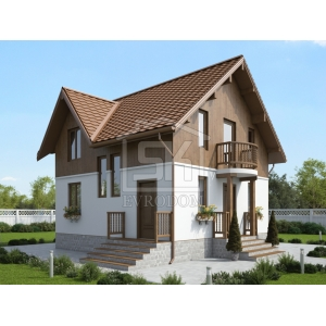 Строительство каркасного дома  109 м2